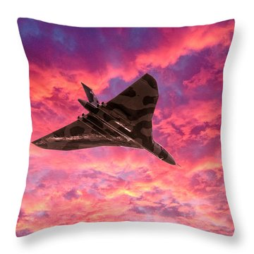 Going Out In A Blaze Of Glory Throw Pillow
