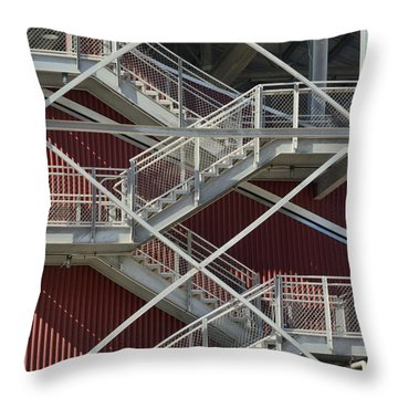 Going Up Throw Pillow by Kae Cheatham