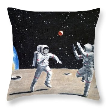 Going Way Out Throw Pillow