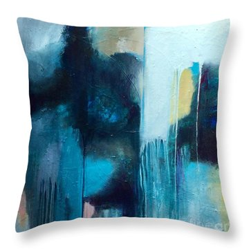 Going With The Flow Throw Pillow
