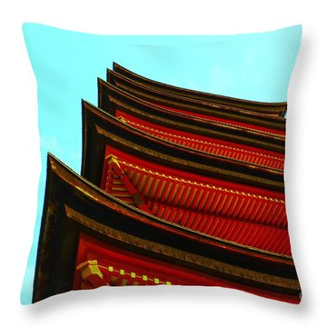 Gojunoto Throw Pillow