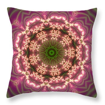 Gold 2 Throw Pillow