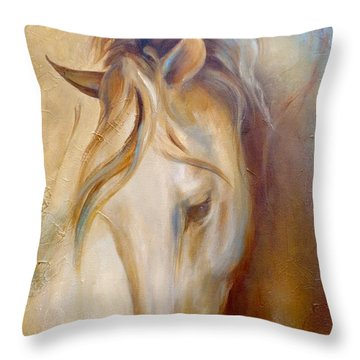 Gold Dust 2 Throw Pillow