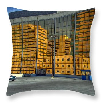 Gold In The Bank Throw Pillow
