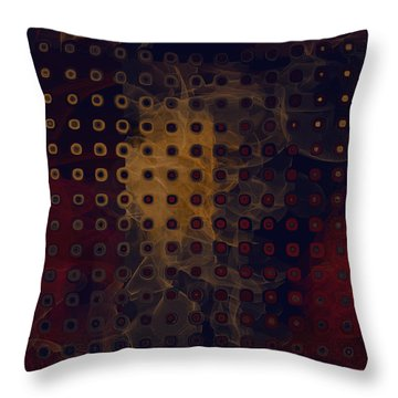 Gold Light Throw Pillow