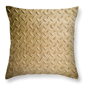 Grit Of Goldfinger Throw Pillow