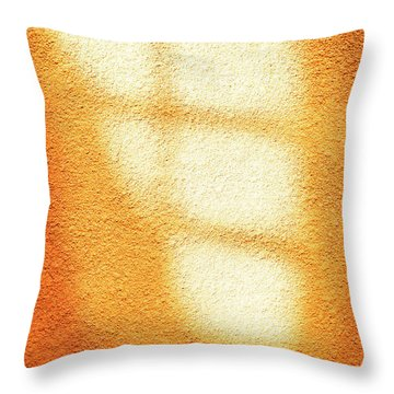 Throw Pillow featuring the photograph Gold Toner by Craig J Satterlee