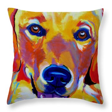Golden - Sheamus Throw Pillow by Alicia VanNoy Call