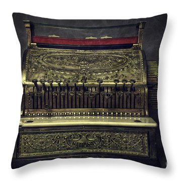 Cash Register Throw Pillows