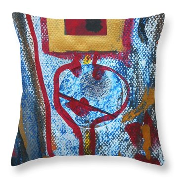 Golden Child-1 Throw Pillow