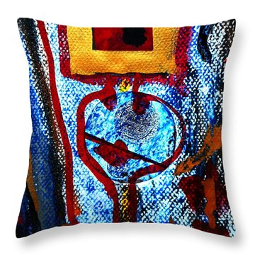 Golden Child-2 Throw Pillow