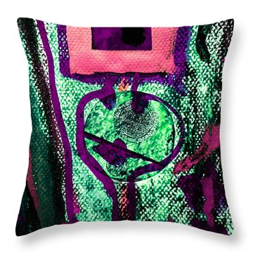 Golden Child-3 Throw Pillow