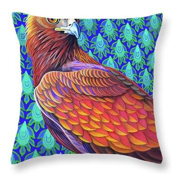 Golden Eagle, 2017 Throw Pillow