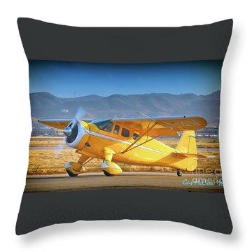 David Bole's Classic Howard Throw Pillow