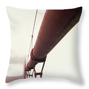 Golden Gate 3 Throw Pillow