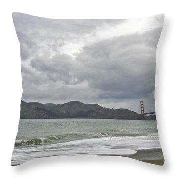 Golden Gate Study #2 Throw Pillow