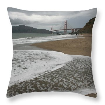 Golden Gate Study #3 Throw Pillow