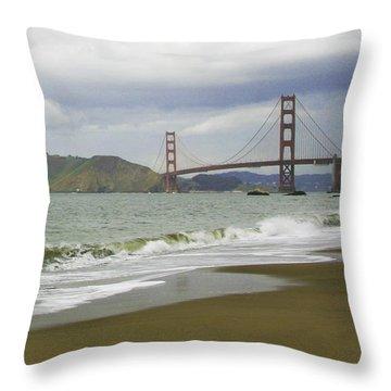 Golden Gate Bridge #4 Throw Pillow