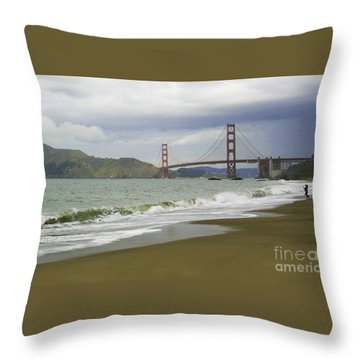 Golden Gate Bridge #4 Throw Pillow
