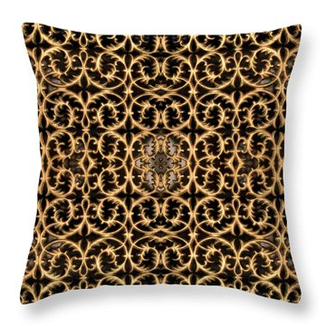 Throw Pillow featuring the photograph Turkish Gate 2 by Mark Greenberg