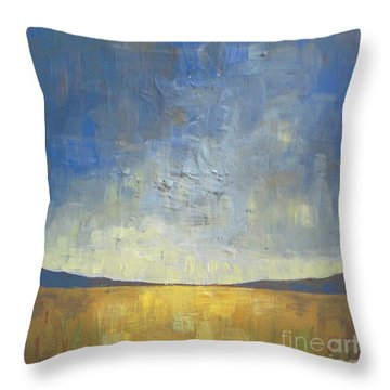 Autumn Abstract Throw Pillows