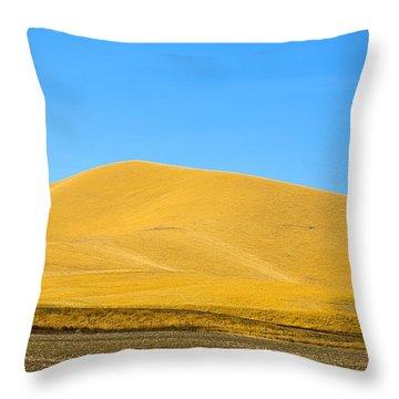 Golden Hill Throw Pillow
