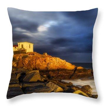Golden Hour Throw Pillow by Mark Papke