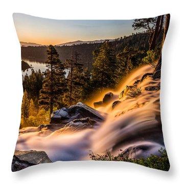 Golden Light By Mike Breshears Throw Pillow