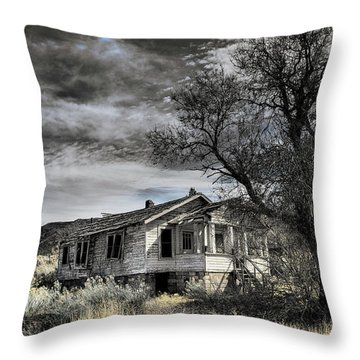 Golden New Mexico Throw Pillow