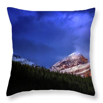 Golden Nugget Throw Pillow by John Poon
