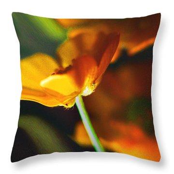 Golden Possibilities... Throw Pillow