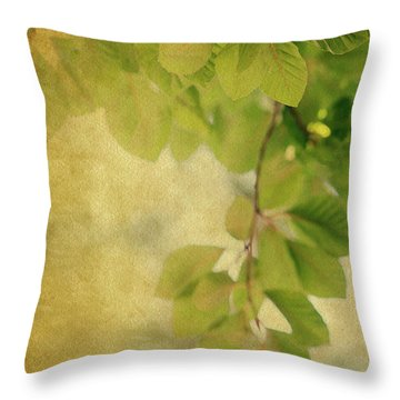 Throw Pillow featuring the photograph Golden by Rebecca Cozart