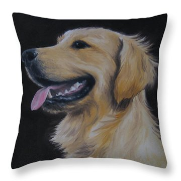 Golden Retriever Nr. 3 Throw Pillow
