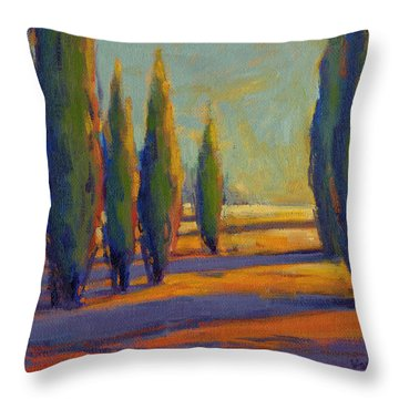 Golden Silence 2 Throw Pillow