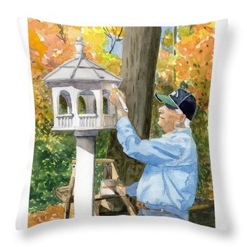 Golden Years Throw Pillow