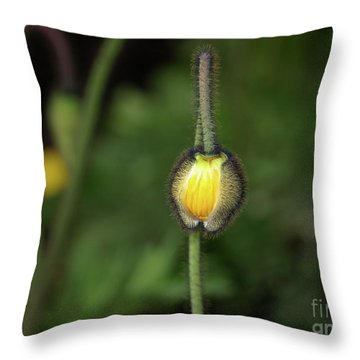 Goldengatefloral01 Throw Pillow