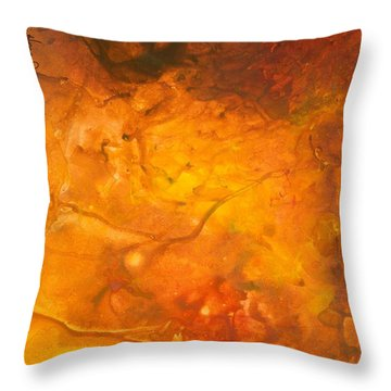 Goldenglow Throw Pillow