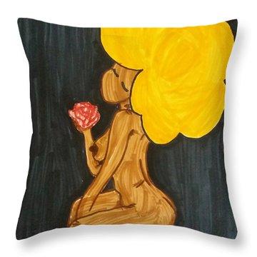 Goldie Throw Pillow