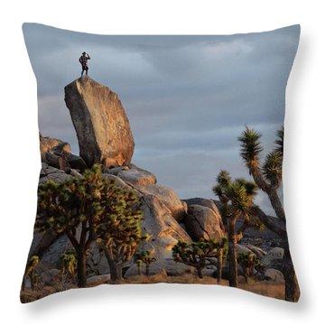 Goldie Dawn Throw Pillow