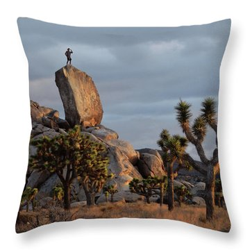 Goldie Dawn Throw Pillow