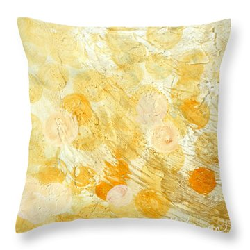 Goldie Throw Pillow by Kristen Abrahamson