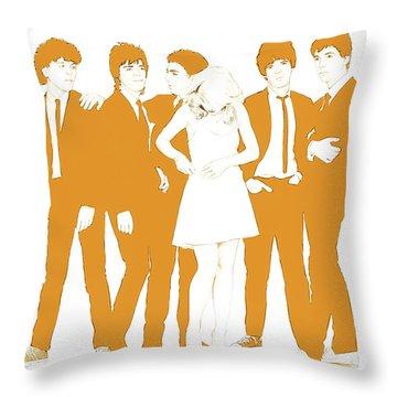 Goldie Throw Pillow by Kurt Ramschissel