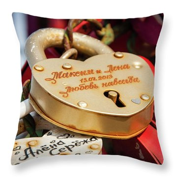 Goldielocks Throw Pillow
