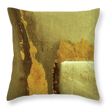 Goldrush Throw Pillow