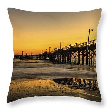 Goleta Sunset Throw Pillow