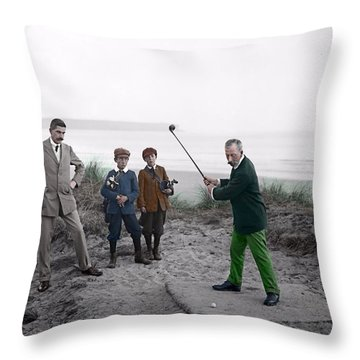Golf 1907 Dream Throw Pillow