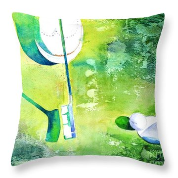 Golf Series - Finale Throw Pillow