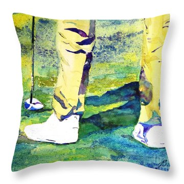 Golf Series - High Hopes Throw Pillow