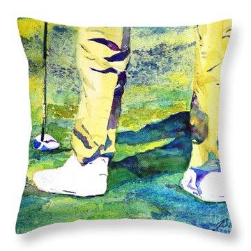 Golf Series - High Hopes Throw Pillow
