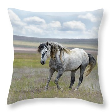 Goliath Throw Pillow by Joe Hudspeth